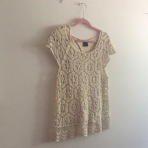 Embroidered Ella Moss Top